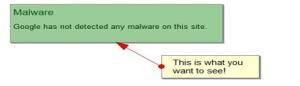 Malware Webmaster Tools